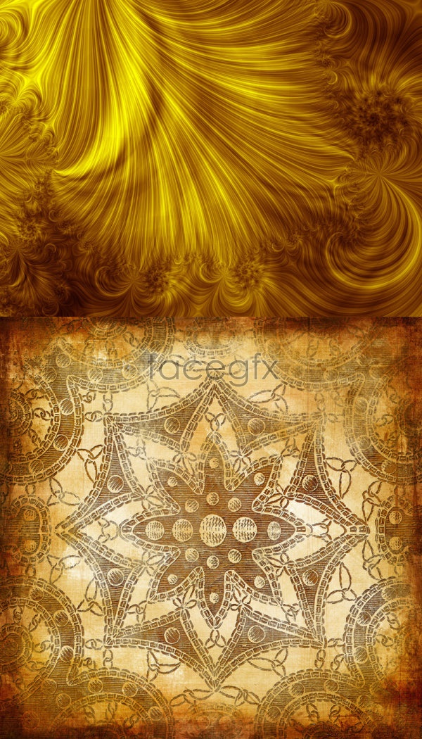 download textures gold floral - photo #15