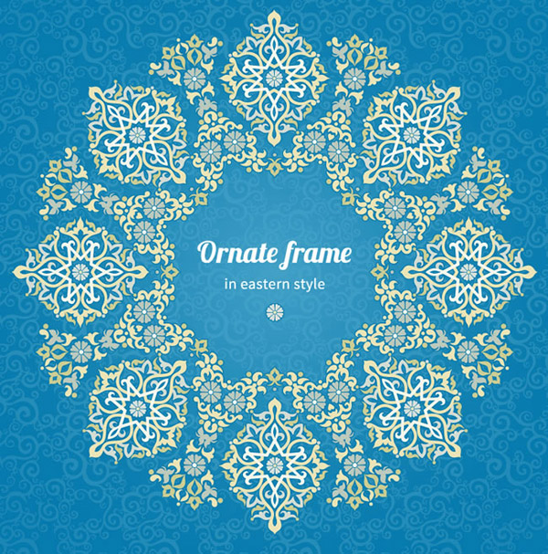 Oriental Pattern Background Vector Over Millions Vectors Stock