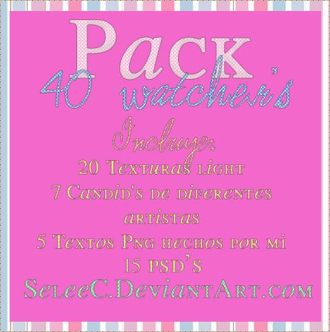 +Pack 40 Watcher's!