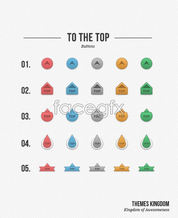 Page TOP ranking icon PSD