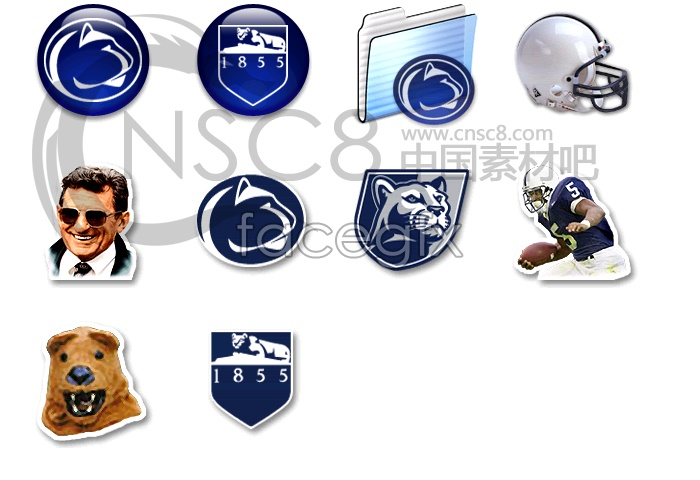 Panthers team icons