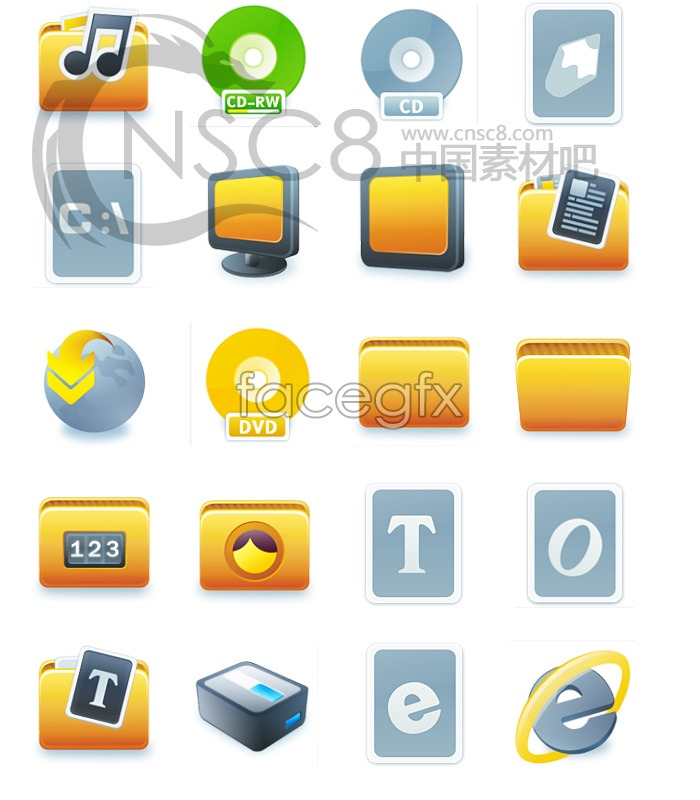 Pastel style! System icons