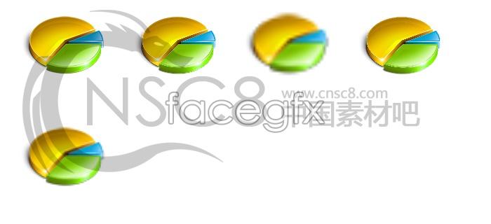 Personal statistics icon