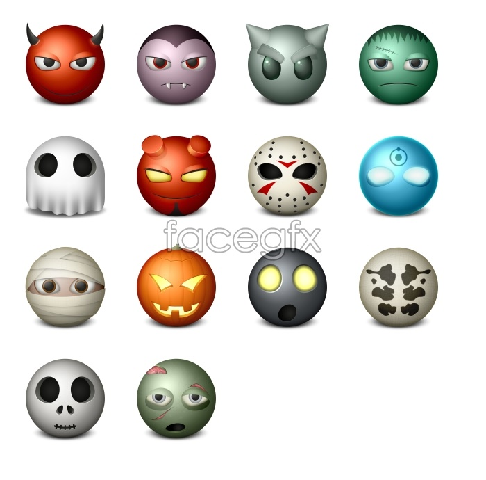 Personality expression desktop icons