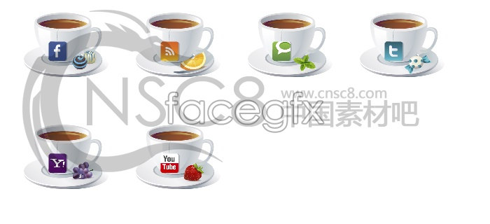 Personalized Coffee Cup icons