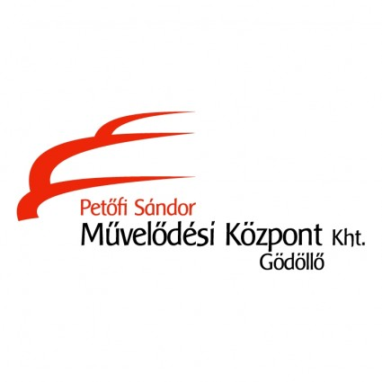 petofi sandor muvelodesi kozpont logo