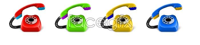 Phone desktop icons