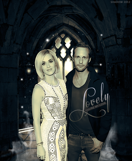 Photomanipulation Katy and Alexander