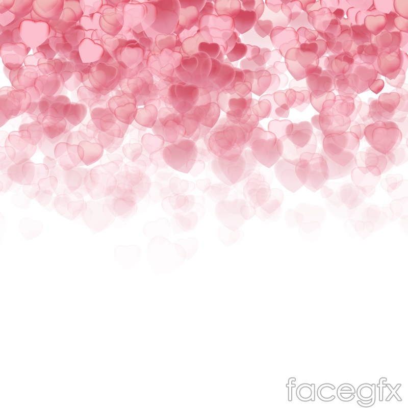 Love Wallpaper Vector : Pink light love background vector Over millions vectors ...