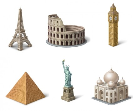 Places Of Interest icons pack