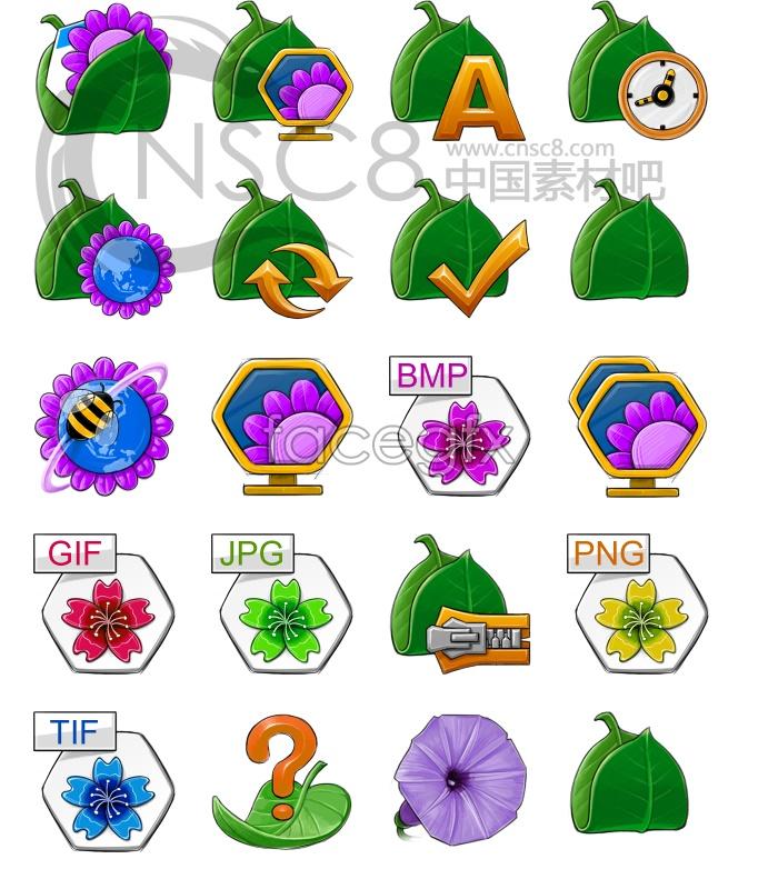Plant desktop icons