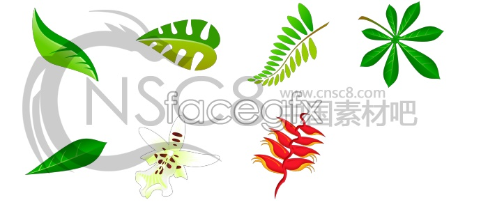 Plant vector icons