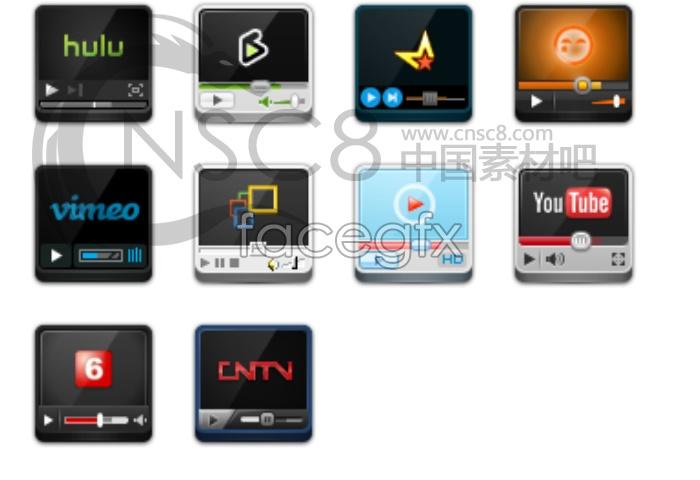 Player desktop icons