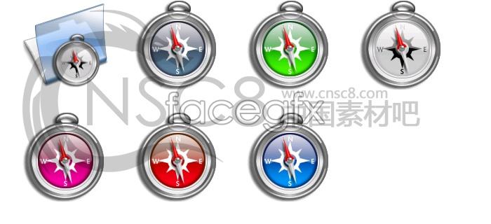 Pocket Watch-bright compass