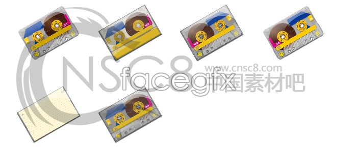 Potential cassette icons