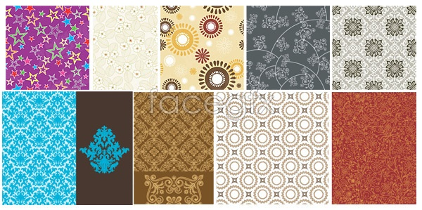 Practical pattern background 4 Vector
