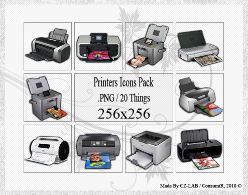Printers Icons Pack