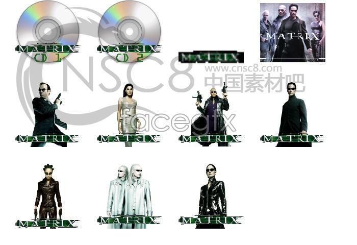 Propaganda matrix actor icons