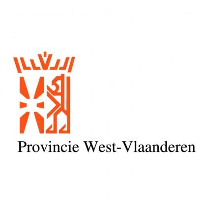 provincie west vlaanderen logo