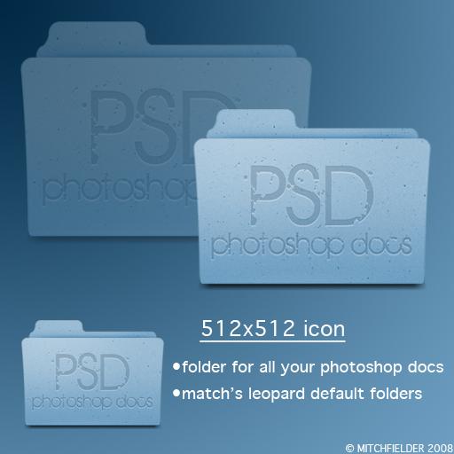 Psd Folder Icon