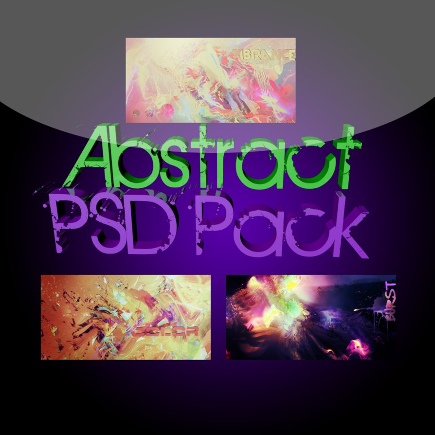 PSD Pack One – Abstract
