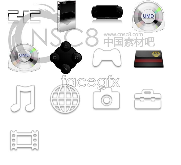 PSP series icons
