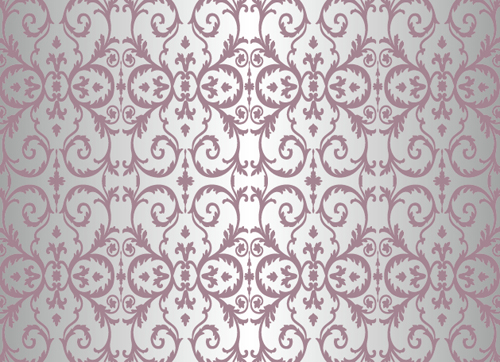 Purple floral ornament pattern backgrounds vector 02 is free Vector ...