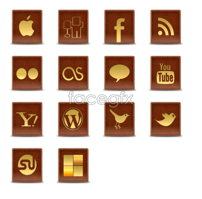 Purse style sign icons