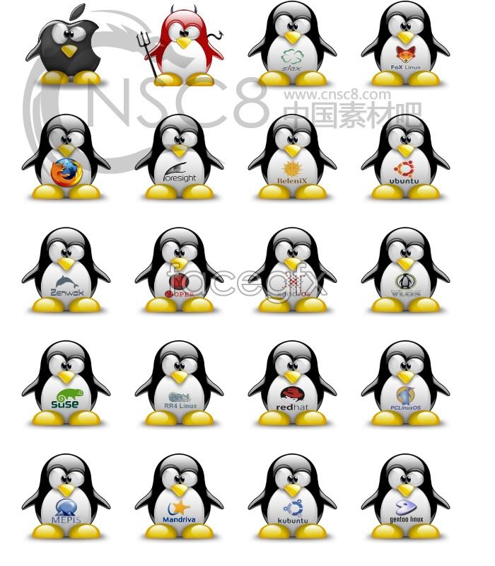 Qq penguin desktop icons – Over millions vectors, stock photos, hd