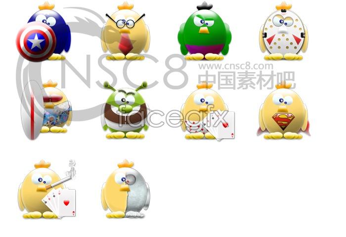 QQ Penguin icons