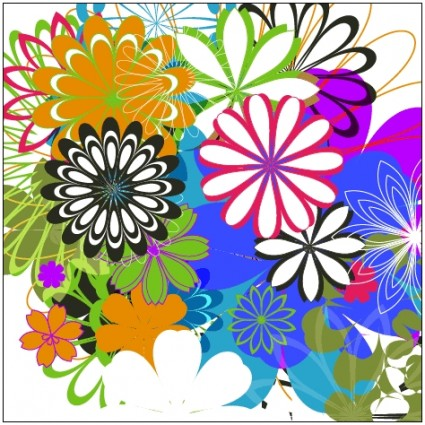 Random Free Vectors – Part 7: Flowers