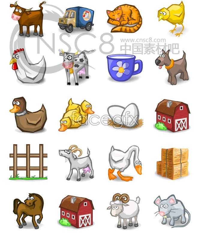 Real life! Animal icons