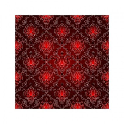 red background pattern vector 4