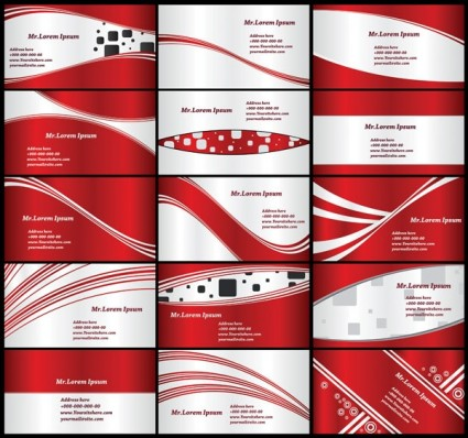 red card background vector