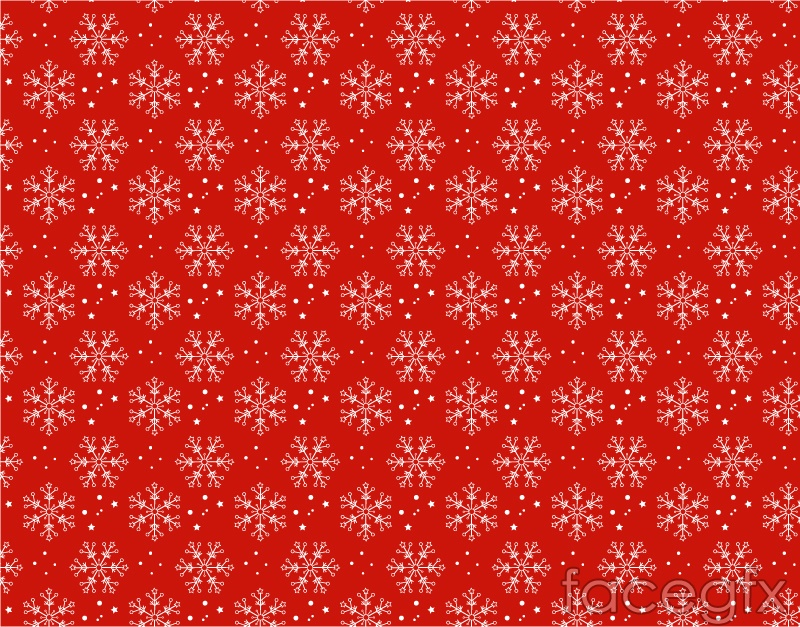<b>Red Background</b> With Two Balls And Some <b>Snowflakes</b> Picture For ...