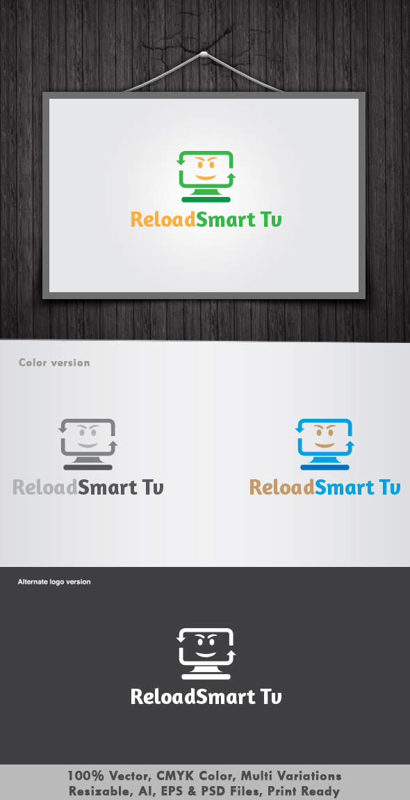 Reload Smart Tv Logo