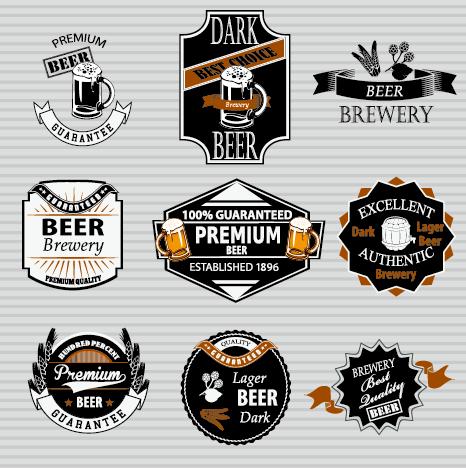 Retro beer labels vectors set 02 free over millions vectors stock retro beer labels vectors set 02 free toneelgroepblik Choice Image