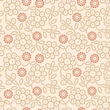 retro floral 04 vector