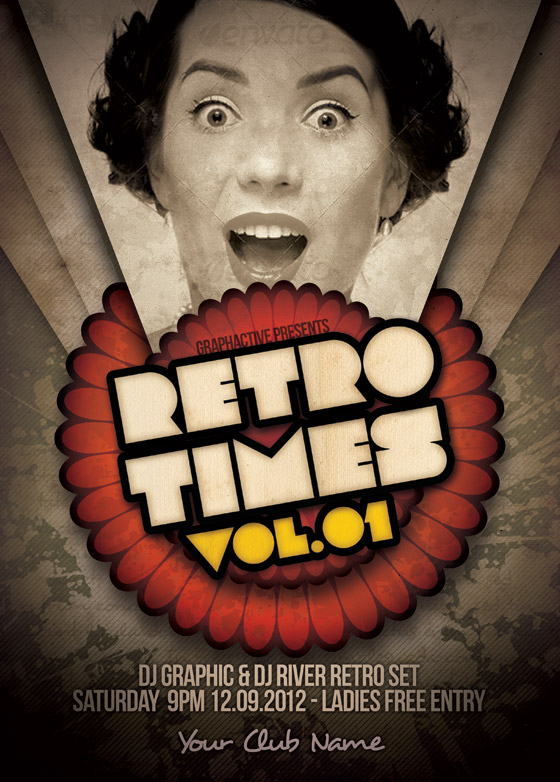 Retro Times Design Template