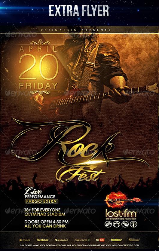Rock Fest Flyer