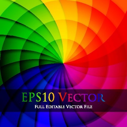 rotate colorful background vector 3
