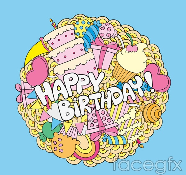 round birthday cards vector – over millions vectors, stock photos, Modern powerpoint