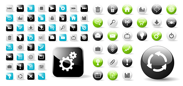 Rounded square icon