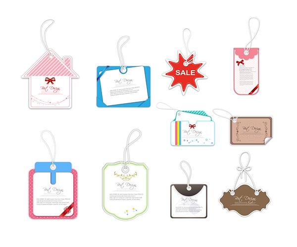 Sale tag label 2