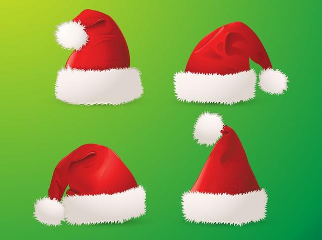 0bd1aec97b06e Santa hats vector free – Over millions vectors