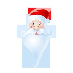 santa icon free psd and png
