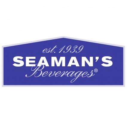 seamans beverages logo