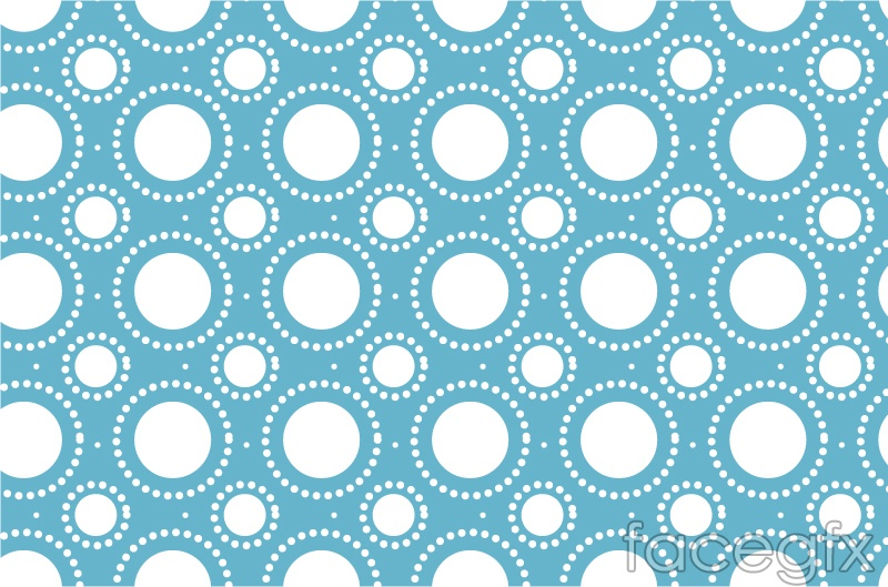 Aninimal Book: Seamless pattern background blue circle vector – Over ...