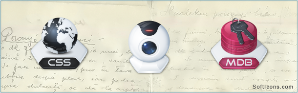Senary System Icons