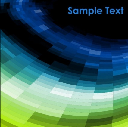 sense of science and technology background vector 3